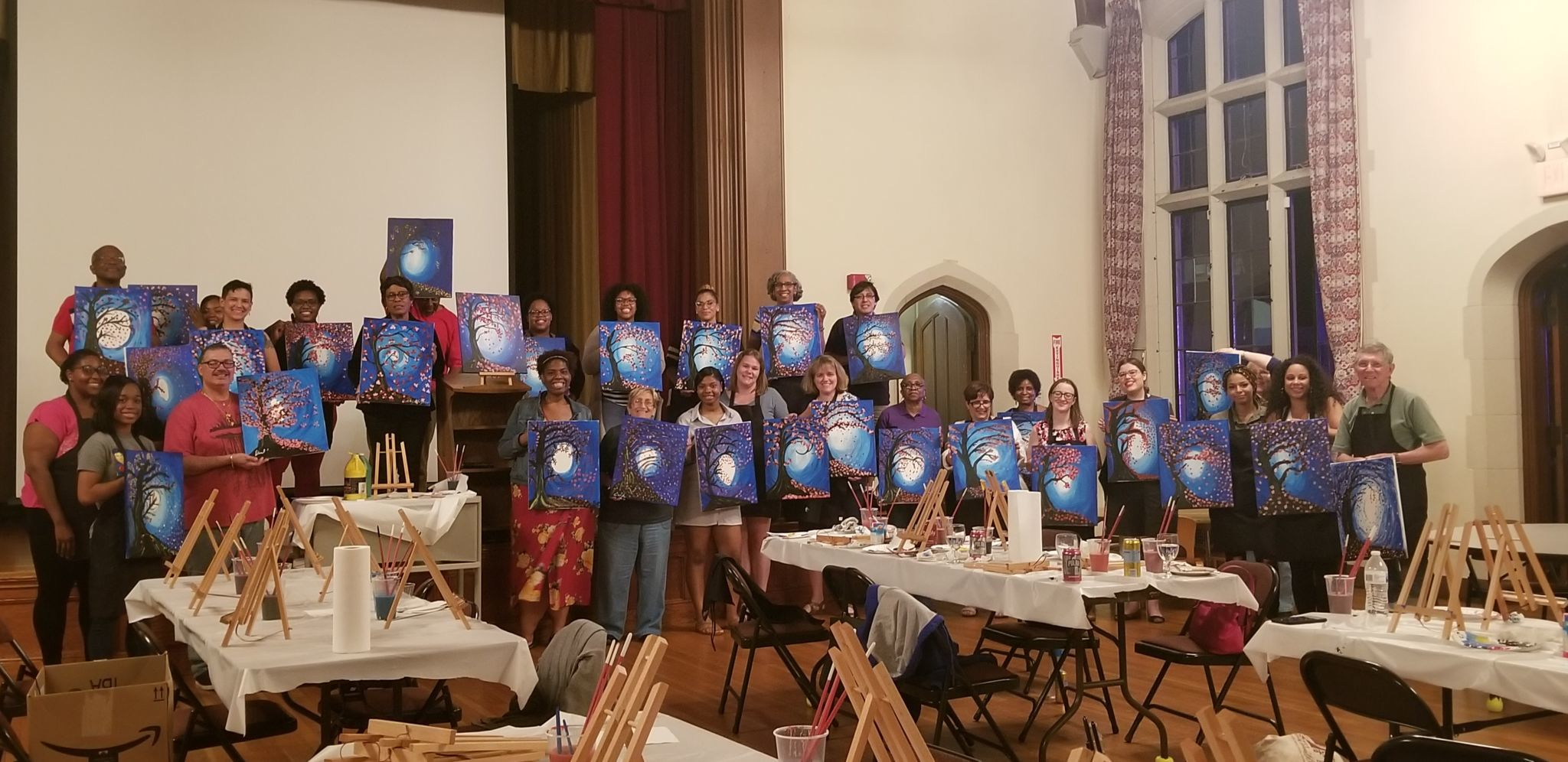 Church Street Eats Paint Night