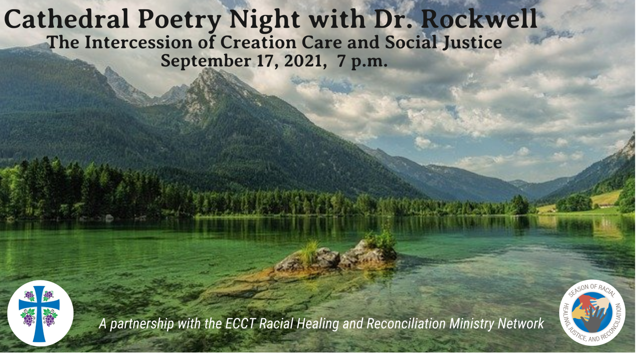 Cathedral Virtual Poetry Night with Dr. Rockwell
