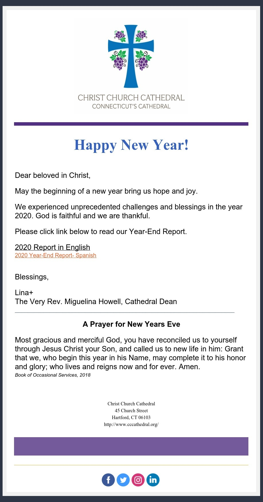 Year End Report Happy New Year